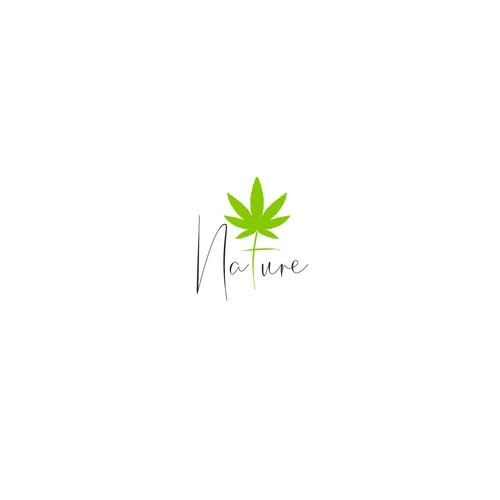 Nature — Logo for upscale cannabis dispensary