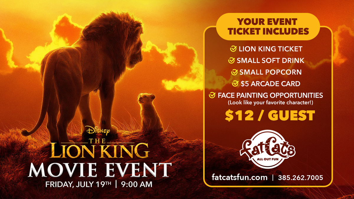 The Lion King Movie Event Poster