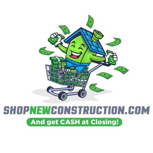 Mascot LOGO for ShopNewConstruction.com