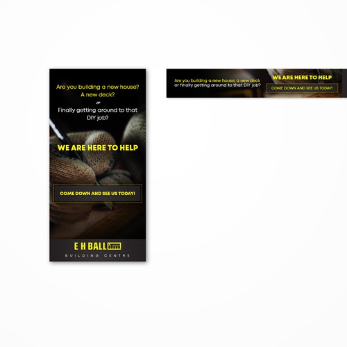 Banner for Building Specialist Company.