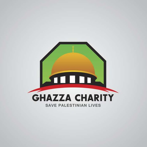 Logo for a charity association .