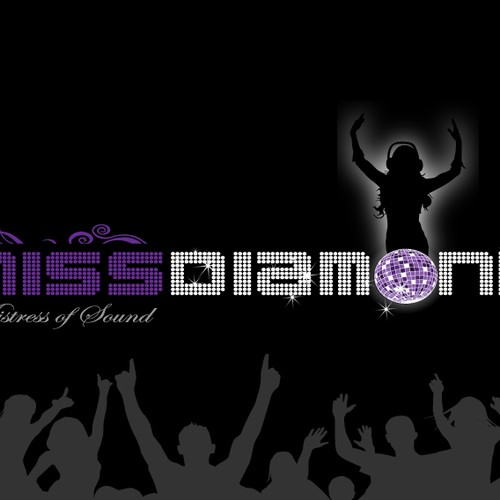 "your CREATIVITY for the new logo of ""Miss Diamond DJ"" required!"