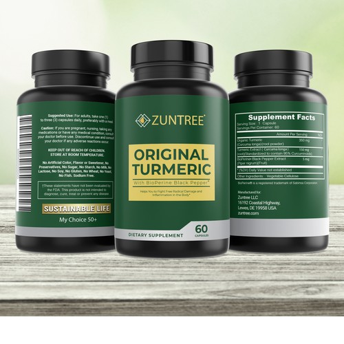 ZUNTREE ORIGINAL TURMERIC