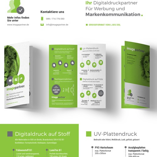 Brochure for IP ImagePartner GmbH