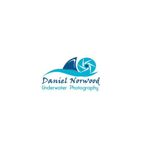 Create a cool ocean related logo that represents my passion for underwater photography
