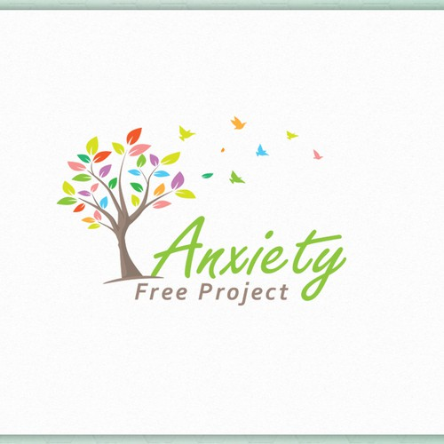 logo for Anxiety Free Project