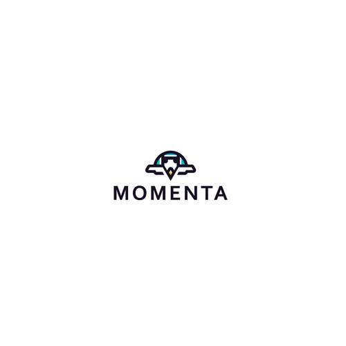 Momenta Logo Design