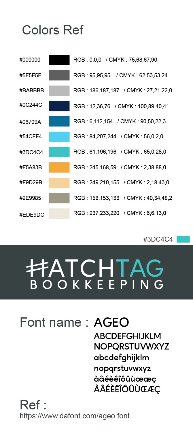 Defy the bookkeepers stereo type for HATCHTAG BOOKKEEPING!