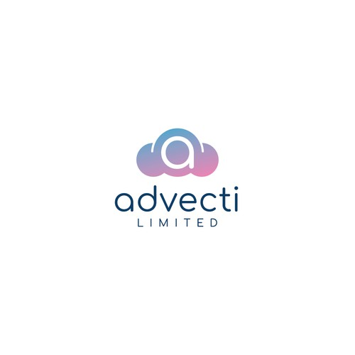 Modern and minimalist logo for Advecti Limited