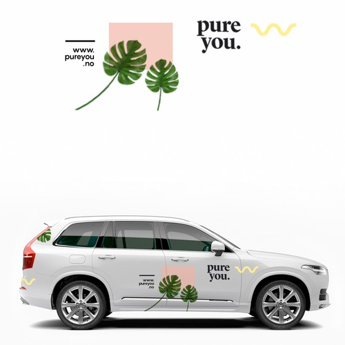 Car vinyl design