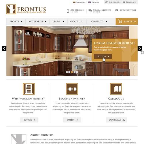 Website for FRONTUS
