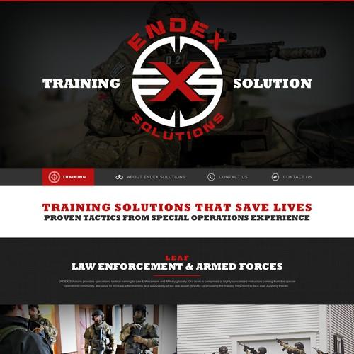 ar web page design