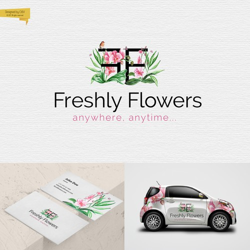 Logo for the international floristic company