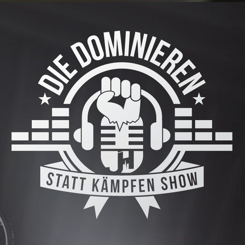 Logo for a German podcast show