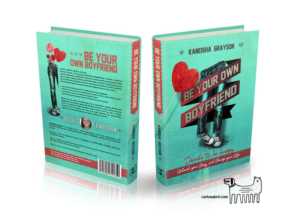 Vibrant Typography Colorful Textured Book Cover Wanted