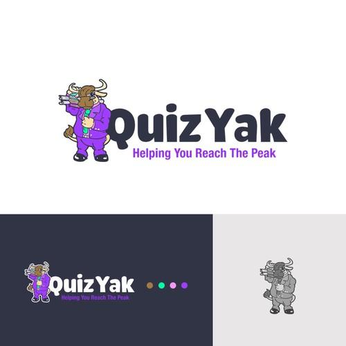 Quiz Yak Illustrated logo