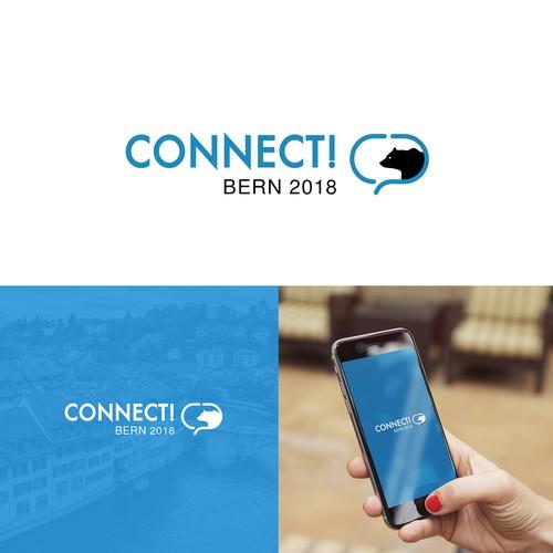 Logo for Bern Switzerland Congress.