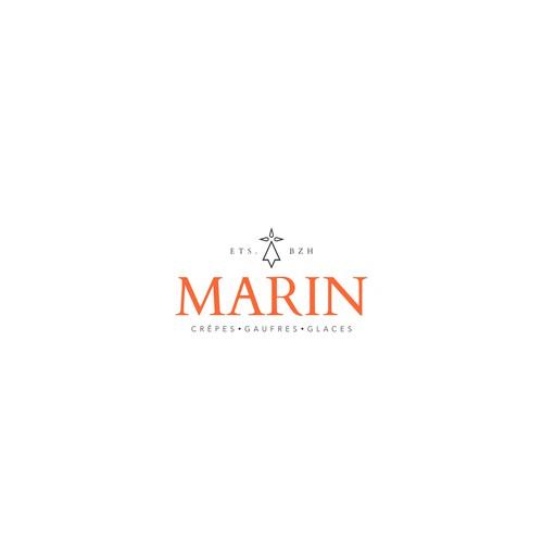 Logo concept for Marin