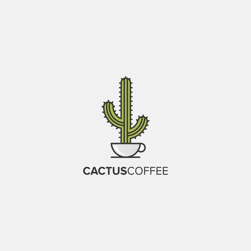 Cactus Coffee shop needs a non-hipster logo to help us stand out from local competition