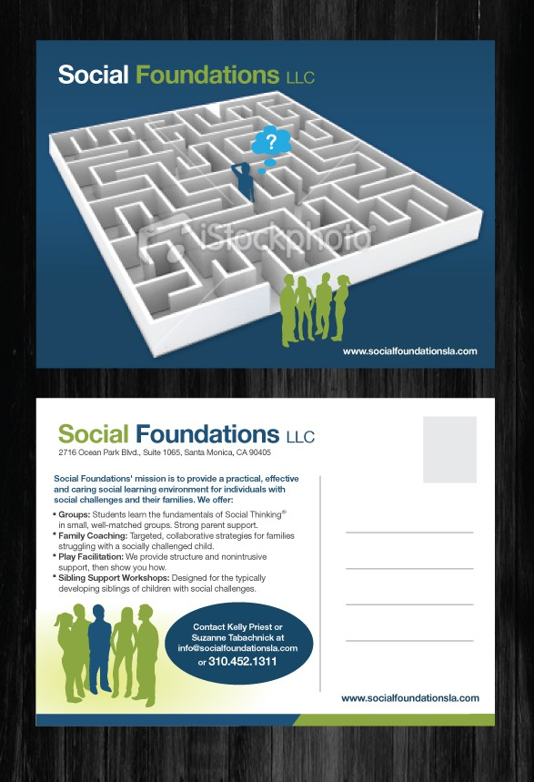 print or packaging design for Social Foundations LLC