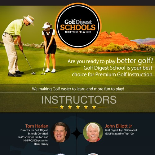 Golf Digest School Email Templates