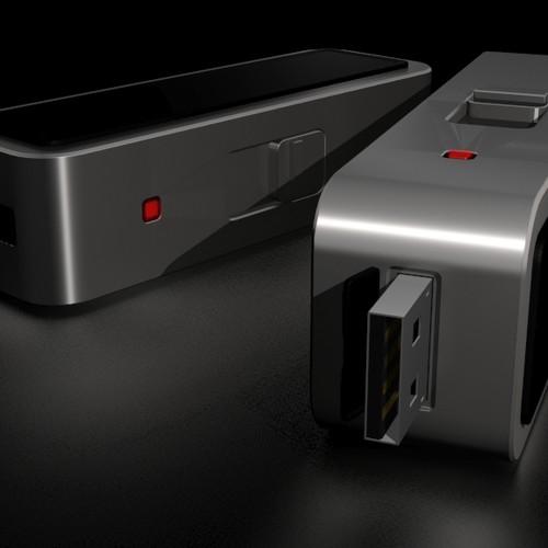 Industrial Design: USB Memory Stick
