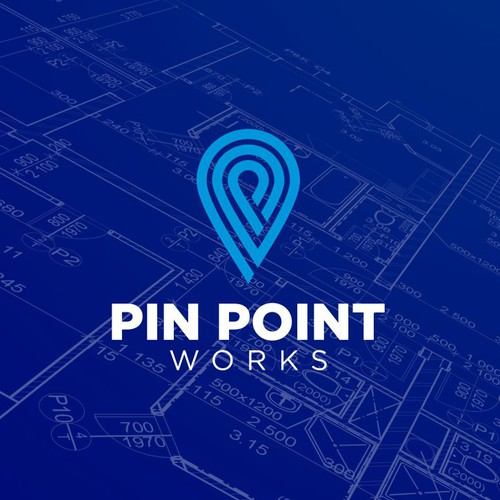 PIN POINT WORKS LOGO