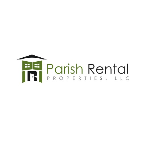 Parish Rental Properties Logo Design