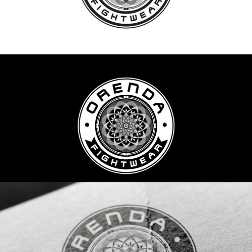 Create an attractive fightwear design for Orenda