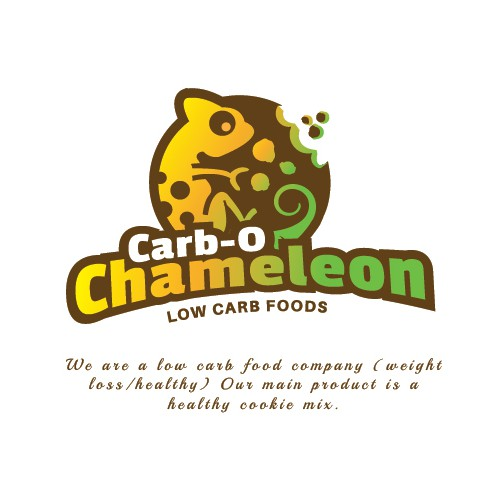 Carb O Chameleon Low Carb Foods Logo