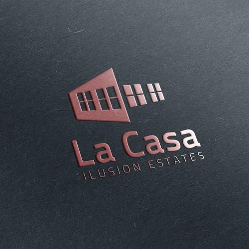 logo contest La Casa Ilusion Estates