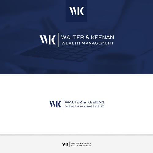 Walter & Keenan logo design