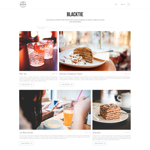 Clean Blog website