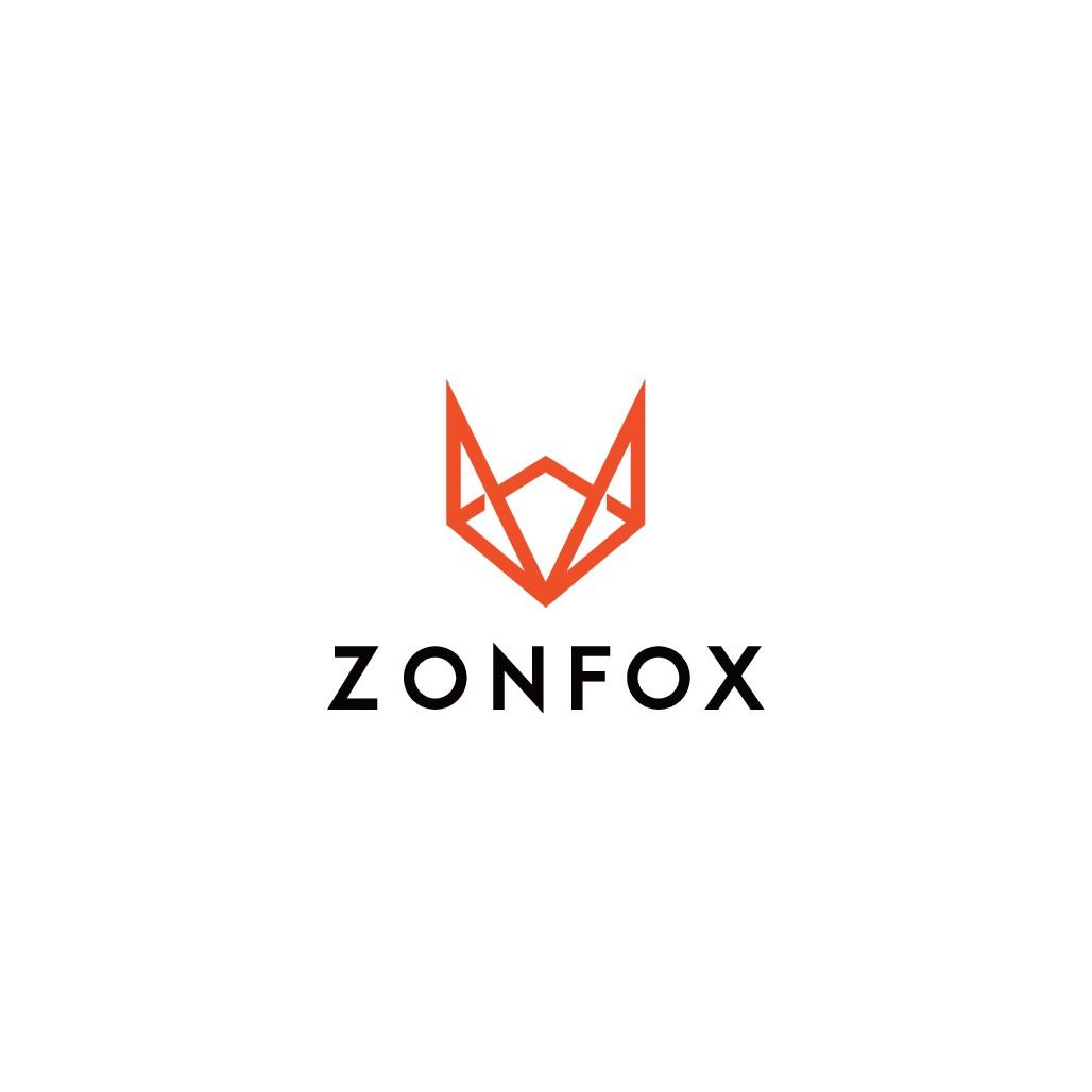 Design a simple yet modern logo for Zonfox!