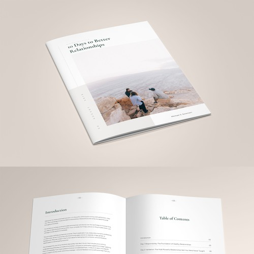 Minimalist Book Design