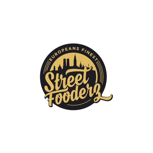 Logo for street food's company