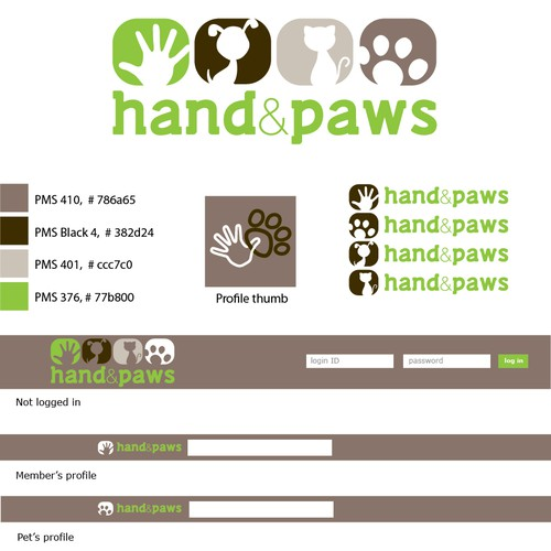 Hand & Paws needs a new logo