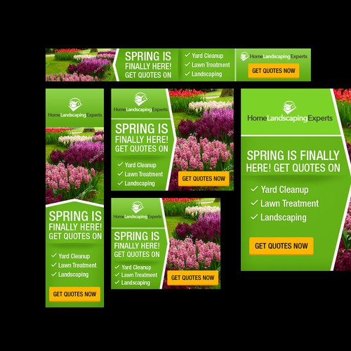 Help Create a Spring Landscaping Banner!