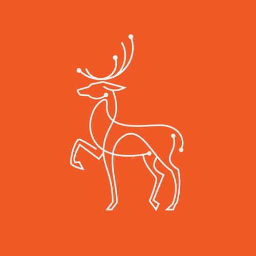 Tech Deer Logo