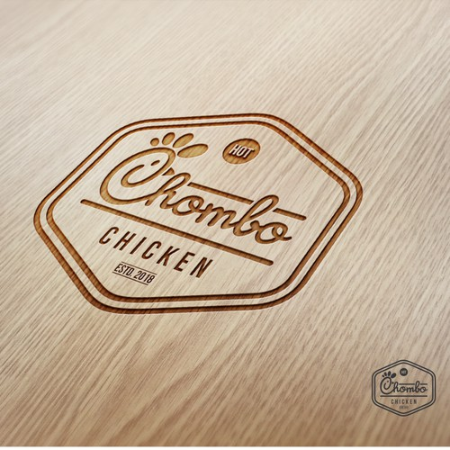 Branding Design For CHOMBO CHICKEN - Fried Chicken in Panama