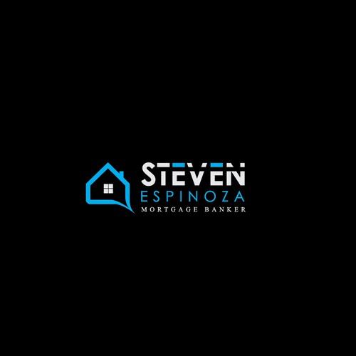 Bold logo for STEVEN espinoza