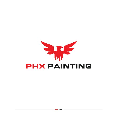 PHX Painting Logo Design