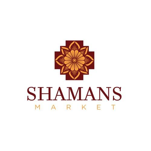 Logo concept for Shamans Market