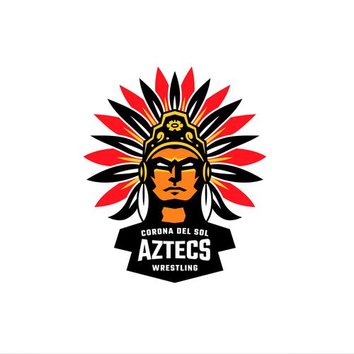 Logo for a HS Wrestling team