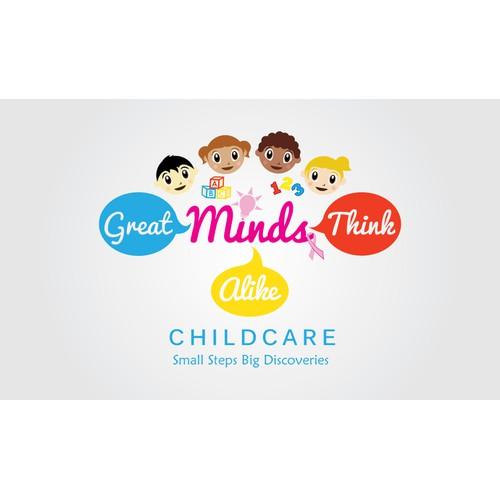 winning logo for childcare