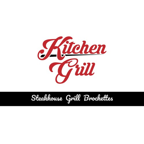 Logo Concept For Grill