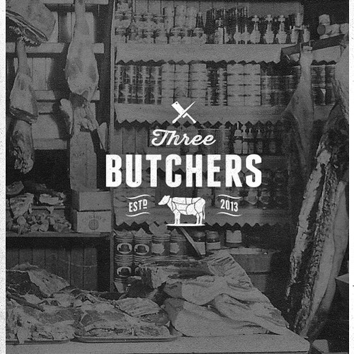 Three Butchers needs a new logo