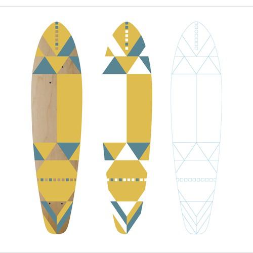 2017 Summer longboard design