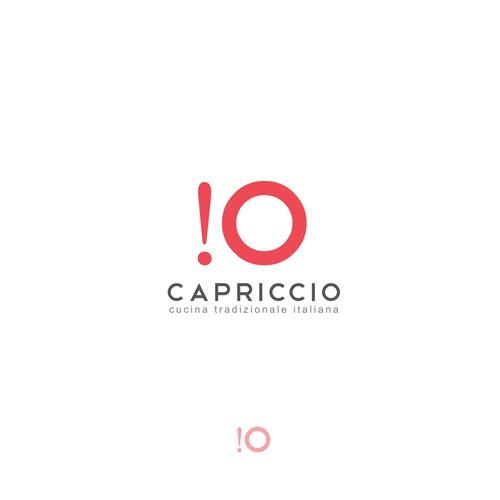 Logo audace  per la produzione di alimenti italiani legati al  concetto di dark kitchen