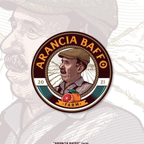 Arancia Baffo Farm | Logo Design